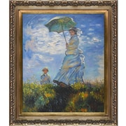 Tori Home Madame Monet and Her Son by Claude Monet Framed Drawing Print
