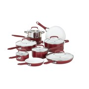 WearEver Pure Living 15 Piece Cookware Set