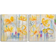 Omax Decor Sunflower Supreme' 2 Painting on Canvas Set