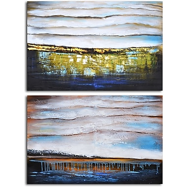 Omax Decor After the Rain' 2 Piece Painting on Canvas Set