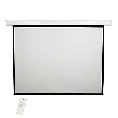 Loch High Contrast Grey 84'' diagonal Electric Projection Screen