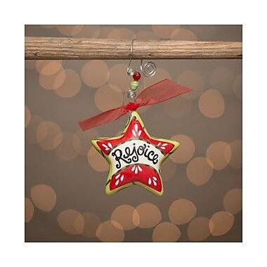 Glory Haus Rejoice Puff Star Shaped Ornament