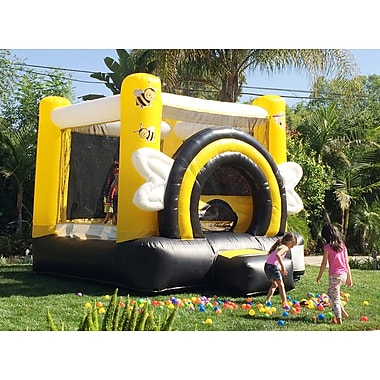 JumpOrange DuraLite Busy Bee Party Bounce House