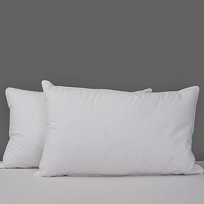 Deluxe Comfort Chamber Feathers Pillow; King
