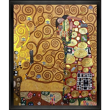 Tori Home Fulfillment by Gustav Klimt Framed Painting