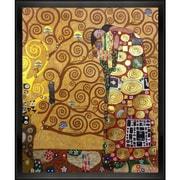 Tori Home Fulfillment by Gustav Klimt Framed Painting