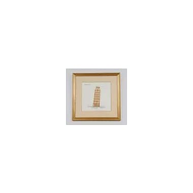 Old Modern Handicrafts Leaning Tower of Pisa Framed Graphic Art