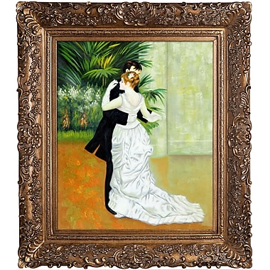 Tori Home Dance in The City by Pierre-Auguste Renoir Framed Painting