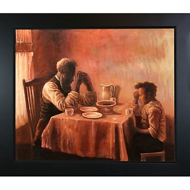 Tori Home The Thankful Poor by Henry Ossawa Tanner Framed Painting
