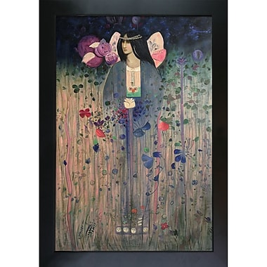 Tori Home Untitled by Charles Rennie Mackintosh Framed Painting