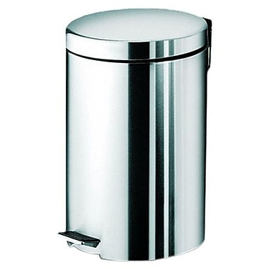 Gedy by Nameeks Argenta 3.19 Gallon Step On Trash Can