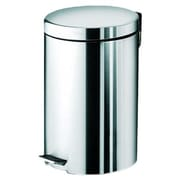 Gedy by Nameeks Argenta 3.19 Gallon Step-On Metal Trash Can
