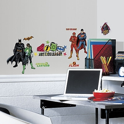 Room Mates Popular Characters Justice League Wall Decal WYF078277021949