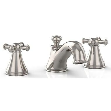 Toto Vivian Double Handle Widespread Bathroom Faucet; Polished Nickel