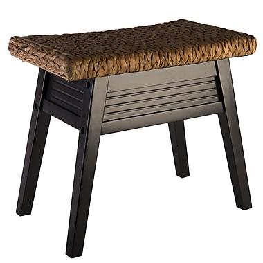 Elegant Home Fashions Bermuda Wood Bedroom Bench