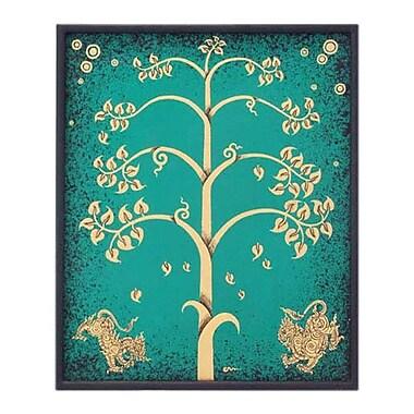 Novica ''Impression in the Tree II'' by Parinya Nanjai Abbam Framed Graphic Art
