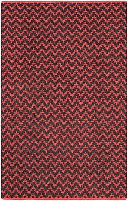 ECARPETGALLERY Passionata Red Open Field Rug