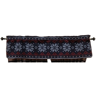 Wooded River Nordic 60'' Curtain Valance