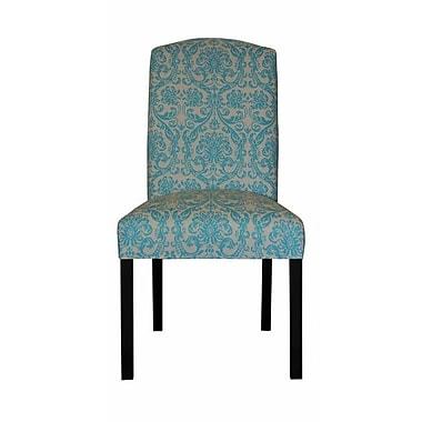 Sole Designs Abigail Side Chair; Mandarin Blue