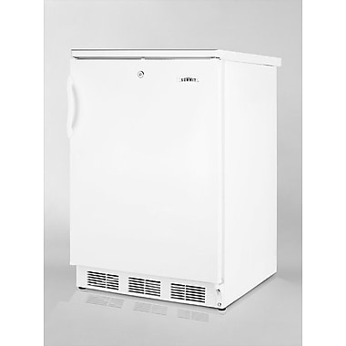 Summit Appliance Accucold 23.63-inch 5.5 cu.ft. Compact All-Refrigerator w/ Lock