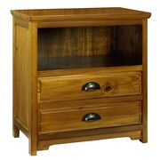 Antique Revival Birming Hutch; Natural