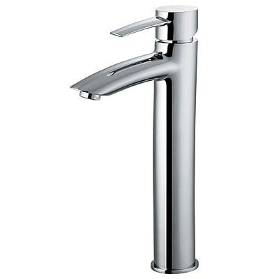Vigo Shadow Single Lever Vessel Bathroom Faucet; Chrome