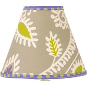 Cotton Tale Periwinkle 9'' Cotton Empire Lamp Shade
