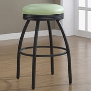 American Heritage Manhattan 26'' Swivel Bar Stool; Green