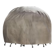 Duck Covers Elite Round Patio Table and Chair Set Cover