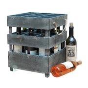 Quickway Imports 9 Bottle Tabletop Wine Rack