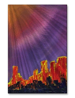 All My Walls 'Cause and Effect' by Daniel MacGregor Painting Print Plaque