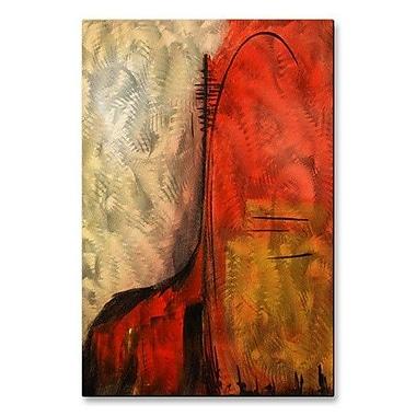 All My Walls 'Prehistoric' by Daniel MacGregor Painting Print Plaque