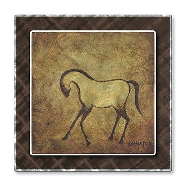 All My Walls 'Buckskin' by Diana Lancaster Graphic Art Plaque