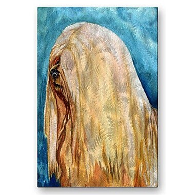 All My Walls 'Ihasa Apso' by Kathleen Sepulveda Painting Print Plaque