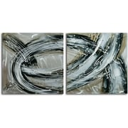 Omax Decor Swept Away' 2 Piece Painting on Canvas Set