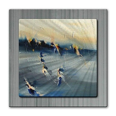 All My Walls 'Moment of Twilight' by Cynthia Ligeros Painting Print Plaque