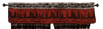Wooded River Moose Hollow 60'' Curtain Valance