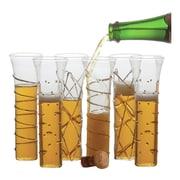 Abigails Festive Champagne Flute (Set of 6); Gold