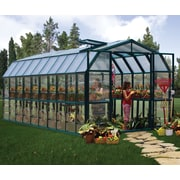 Rion Grand Gardener 2 Clear 8 Ft. W x 20 Ft. D Greenhouse