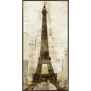 PTM Images Parisian Gicl e Framed Graphic Art