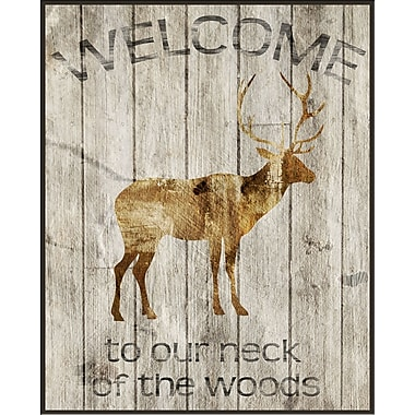PTM Images Our Neck of the Woods Gicl e Framed Graphic Art