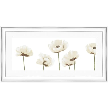PTM Images Florals II Gicl e Framed Painting Print