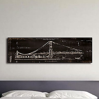PTM Images Brooklyn Bridge Gicl e Framed Graphic Art