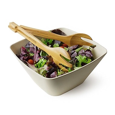 Bamboo Studio Malibu 10'' Square Serving Bowl