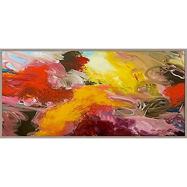 PTM Images Clouds of Color Abstract Gicl e Framed Painting Print