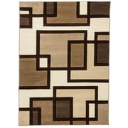 Well Woven Ruby Imagination Squares Contemporary Area Rug; 7'10'' x 9'10''