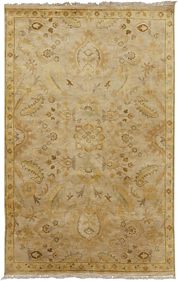 Candice Olson Temptress Beige Rug; Rectangle 5' x 8'