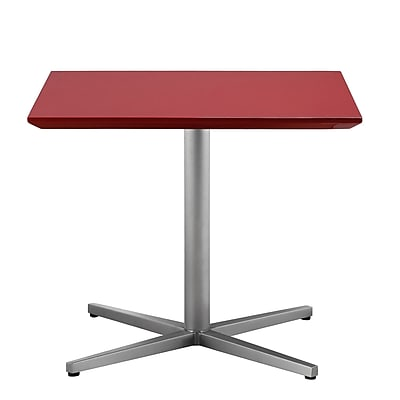 Pangea Home Chase End Table; Red