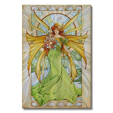 All My Walls 'Lone Spring Fairy' by Teri Rosario Graphic Art Plaque