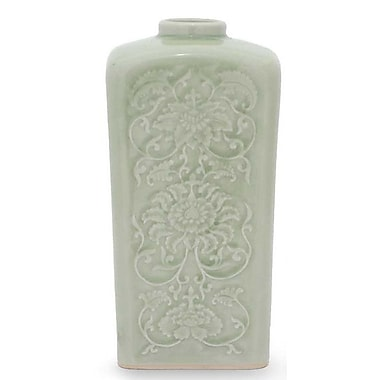 Novica Valley Lotus Vase
